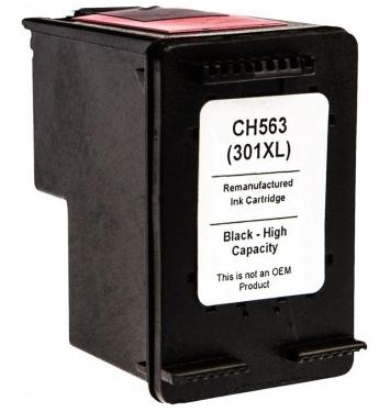 PS náplň HP 301 XL (CH563EE) / 301 (CH561EE) - 1050 / 1510 / 2050 / 3050...čierna 20ml - kompatibilná (alternatívna) náhrada