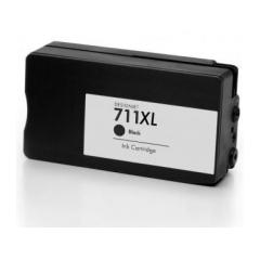 PS náplň HP 711 XL (CZ133A CZ129A) čierna 80ml - kompatibilná (alternatívna) náhrada