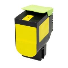 PS toner Lexmark 71B20Y0 / 71B0040 - CS/CX 317/417/517 žltá 2300strán - kompatibilný (alternatívny)