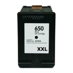 PS náplň HP 650 XXL / 650 (CZ101AE) - 2515 / 3515 / 4515...čierna 25ml - kompatibilná (alternatívna) náhrada