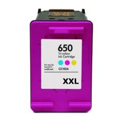 PS náplň HP 650 XXL / 650 (CZ102AE) - 2515 / 3515 / 4515...farebná 15ml - kompatibilná (alternatívna) náhrada