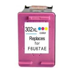 PS náplň HP 302 XL (F6U67AE) / 302 (F6U65AE) farebná 15ml - kompatibilná (alternatívna) náhrada