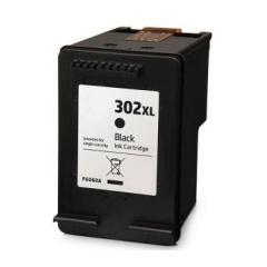 PS náplň HP 302 XL (F6U68AE) / 302 (F6U66AE) čierna 16ml - kompatibilná (alternatívna) náhrada