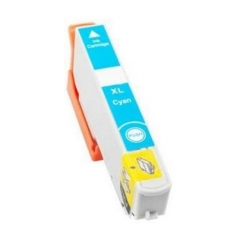 PS náplň Epson 33 XL (T3362, C13T33624012) / 33 (T3342, C13T33424012) azúrová 14ml - kompatibilná (alternatívna) náhrada