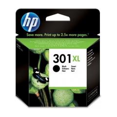 Originál náplň HP 301 XL (CH563EE) - 1050 / 1510 / 2050 / 3050...čierna 480s/8ml
