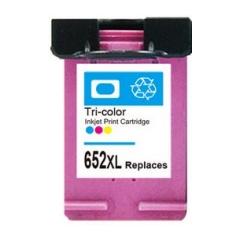 PS náplň HP 652 XXL (F6V24AE) - 4535 / 4675 / 2135 / 3635 / 3785 / 3835...farebná 18ml - kompatibilná (alternatívna) náhrada