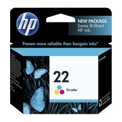 Originál náplň HP 22 (C9352AE) - 1410 / F380 / 4300...farebná 150strán/5ml
