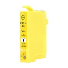 PS náplň Epson 27 XL T2714 (C13T27144012) / T2704 (C13T27044012) žltá 14ml - kompatibilná (alternatívna) náhrada