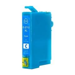 PS náplň Epson 27 XL T2712 (C13T27124012) / T2702 (C13T27024012) azúrová 14ml - kompatibilná (alternatívna) náhrada