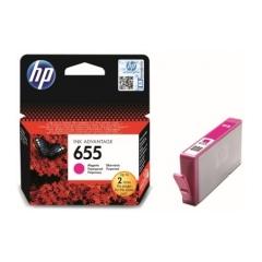 Originál náplň HP 655 (CZ111AE) purpurová 600strán/14ml