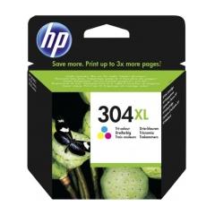 Originál náplň HP 304 XL (N9K07AE) farebná 300strán/7ml
