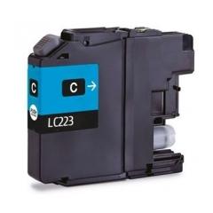 PS náplň Brother LC-223C (LC223C) / LC-221C (LC221C) azúrová 11ml - kompatibilná (alternatívna) náhrada