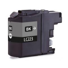 PS náplň Brother LC-223BK (LC223BK) / LC-221BK (LC221BK) čierna 17ml - kompatibilná (alternatívna) náhrada