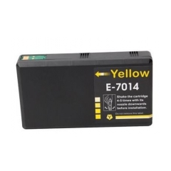PS náplň Epson T7014 (C13T70144010) žltá 38ml - kompatibilná (alternatívna) náhrada