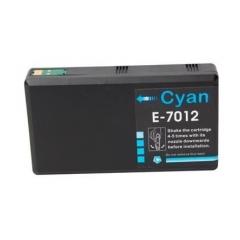 PS náplň Epson T7012 (C13T70124010) azúrová 38ml - kompatibilná (alternatívna) náhrada