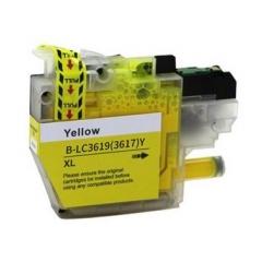 PS náplň Brother LC-3619XLY (LC3619XLY) / LC-3617Y (LC3617Y) žltá 1500strán - kompatibilná (alternatívna) náhrada